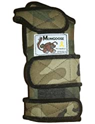 Mongoose Equalizer Bowling Wrist Support left Hand, Large, Camo by Mongoose Products