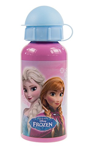 #Trinkflasche Frozen, Aluminium, 400 ml#
