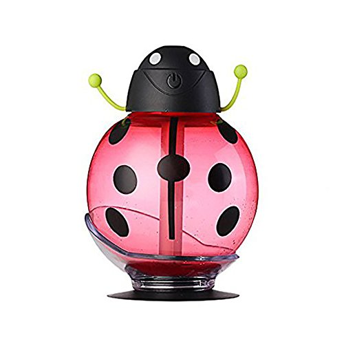 House of Quirk Beatles Cool Mist Humidifier-Red