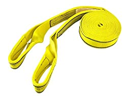 ProGrip 152020 20 x 2 Polyester Flat Webbing Recovery Strap with Loops