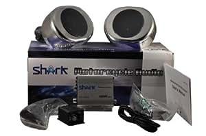 Shark Motorcycle Audio 22050 Yacht Snowmobile Marine Audio (Chrome) Consumer Portable Electronics/Gadgets