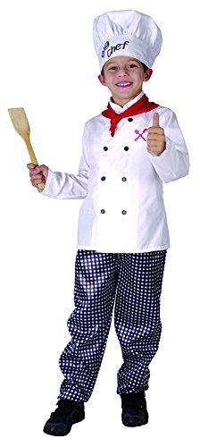 Imagen de disfraz chef cocinero niño  4  6 años