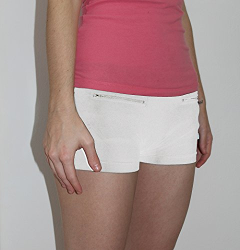 Clever Travel Companion intimo da donna con tasca segreta (cotone) White
