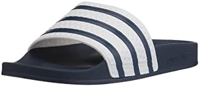 adidas Adilette, Unisex-Erwachsene Slipper, Blau (Adiblue/White/Adiblue), 39 EU