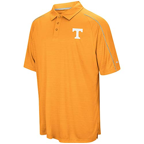 Colosseum Herren Poloshirt NCAA Setter Short Sleeve Coach's Poloshirt Medium University of Tennessee Volunteers
