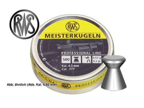 Preisvergleich Produktbild RWS Meisterkugeln Professional Line 4.50mm 0.53g / 8.20gr (500pz)