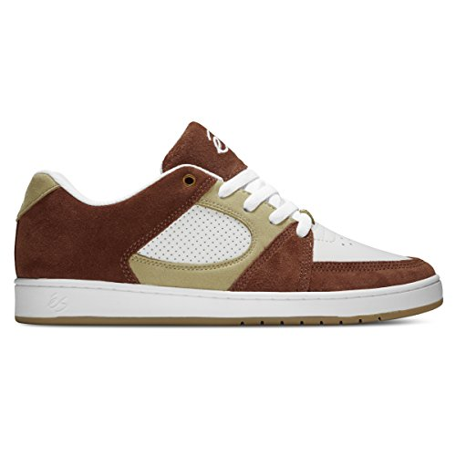 Herren Skateschuh Es Accel Slim Skateschuhe brown/tan/white