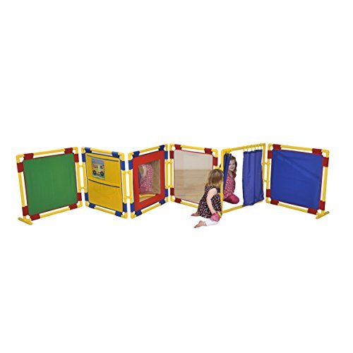 6 Square Activity Nursery Divider Panels - Small  TRUMP