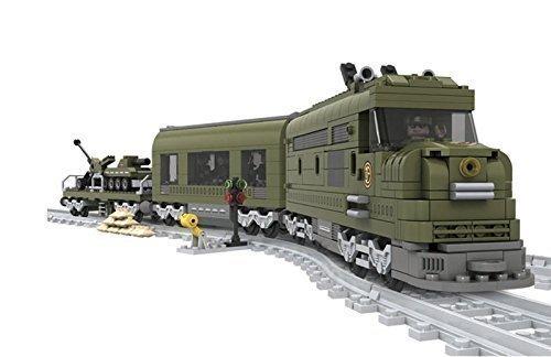 Military-Train-Set-Carriage-Tank-City-Railway-Station-Creator-10-Tracks-25003