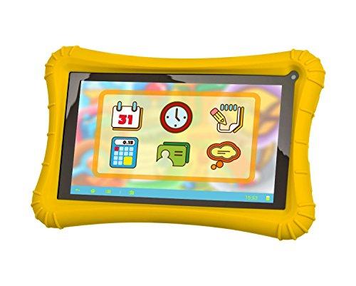Preisvergleich Produktbild Xoro KidsPAD 703 - 17,8 cm (7 Zoll) Tablet PC (Rockchip RK3126, 1GB RAM, 8GB HDD, Mali-400 MP2, Kamera, WLAN, Android 5.1, Touchscreen) für Kinder