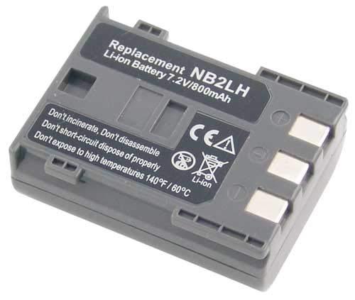 Canon Accumulateur Li-ION 800 Mah 7.4 V pour Piles Accumulateurs