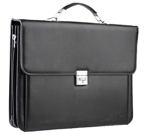 Preisvergleich Produktbild Thierry Mugler Aktentasche, Dokumententasche, Notebook Tasche, Laptoptasche, Transporttasche