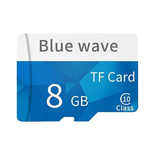 Daliuing Scheda Micro SD da 32GB 10Classe MB/s Scheda di Memoria schsd microSD con Adattatore SD, per Scheda di Memoria di Video HD Blu Blu 8GB