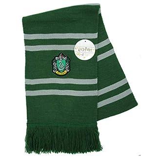 Harry Potter Bufanda Slytherin Ultra Suave – 100% Original Warner Bros e60726727cb