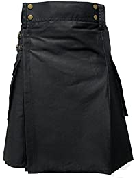 Tartanista Mens Tactical Combat Utility Kilt With Pockets