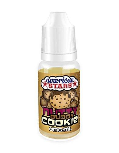 American Stars E-Liquid Butterkeks-Nuss-Vanille-Cookie, 10ml - 3