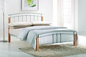 Tetras Double 4FT6 Metal Bed frame