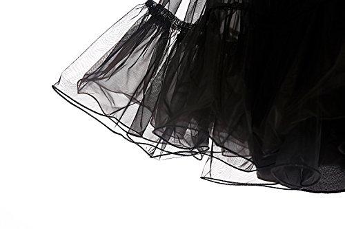 Dresstells 50er Petticoat Reifrock / Unterrock für Rockabilly Kleid - 5