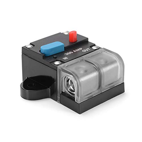 300a Car Audio (RongDuosi 12V-42V 300A Circuit Breaker Elektromotor Car Boat Audio Inline Geldbörse Inverter Insurance Block MA1567 Autozubehör)