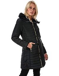 Elle Womens Florence Coat in Black