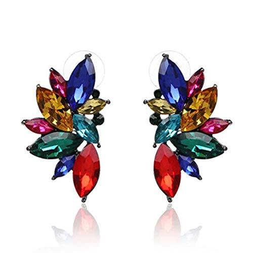 XCWXM Stud Earring Fashion Earrings Pineapple Earrings Crystal Earrings Female Jewelry, N 1226 Crystal