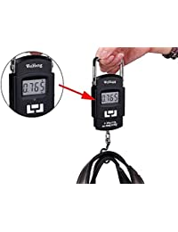 PERFECT SHOPO A-08 Weighing Scale Digital Heavy Duty Portable, Hook Type With Temp, 50Kg