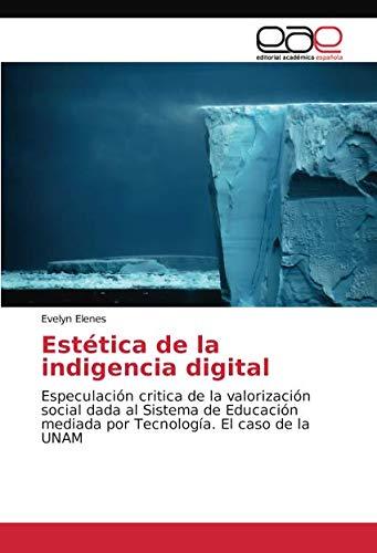 Estética de la indigencia digital: Especulación critica de la valorización social dada al Sistema de Educación mediada por Tecnología. El caso de la UNAM por Evelyn Elenes