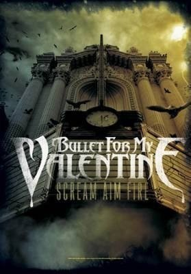Bandiera Bullet For My Valentine: Scream Aim Fire, con licenza ufficiale