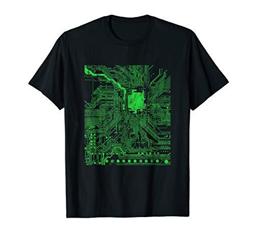 Gamer Prozessor Coder Admin Herz T-Shirt