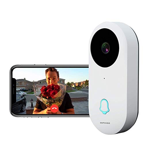Video Doorbell, 960P HD Video, Real-Time 2-Way Talk, Wi-Fi Enabled Smart  Video Camera, Wireless Doorbell, Night Vision, Free Cloud Service, Smart  APP