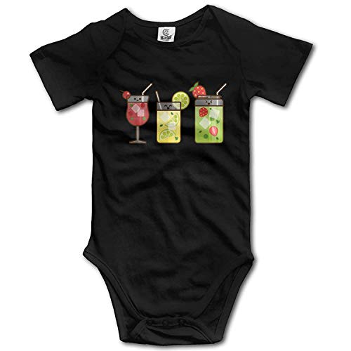 Clothes Set Juice Bodysuits Romper Short Sleeved Light Onesies,18M ()