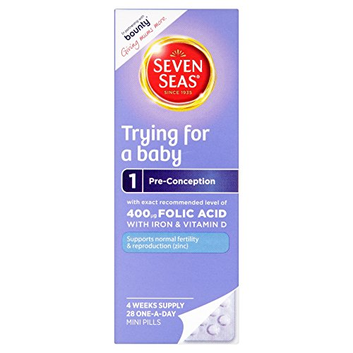 Seven Seas Trying for a Baby, 28 one-a-day pills