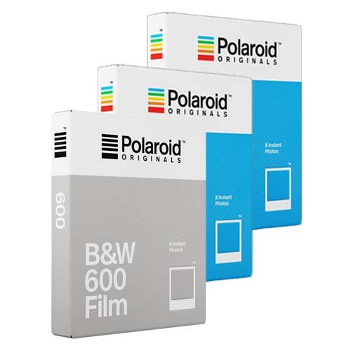 Polaroid colore pellicola pellicola Originals - Triple Pack - 2 x 1 x B & W film