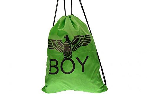 BOY LONDON sacca unisex zainetto con stampa BLA-06 VERDE Verde