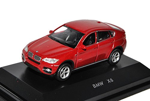 bmw-x6-e71-suv-rot-2008-2014-h0-1-87-welly-modell-auto