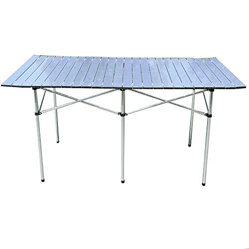 CHENGGUO Table Pliante Pliante multifonctionnelle en Alliage d'aluminium, Table d'extérieur pour Barbecue Portable