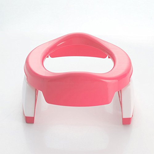 Toilettes pour enfants Chaise de propreté de Voyage de siège de Toilette de Formation pour Enfants, Enfants , Colleer Portabale Porte-siège de, Tout-Petit, Multifonctionnel pour