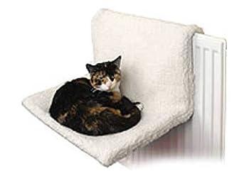 Coussin de luxe V-Vape - Se fixe au radiateur - Pour chat
