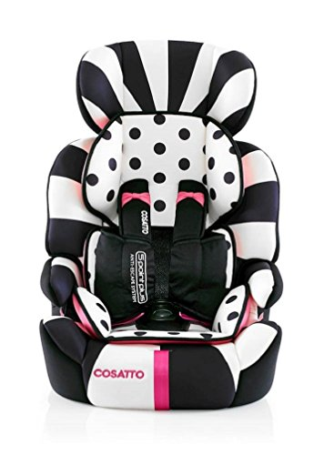 Cosatto Zoomi Kindersitz Autositz 5 Point Plus (Gruppe 1/2/3, Golightly 2)