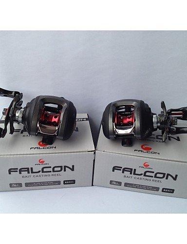 ZCC/Falcon lp-200l 6,3: 110+ 1RB Kugellager Köder Guss Baitcastrollen Linkshänder