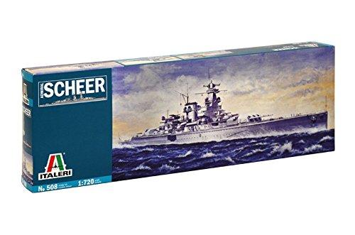 Italeri 0508 - admiral scheer model kit  scala 1:720