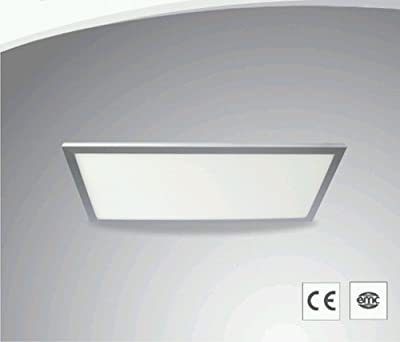 230v Led Smd Panel 30x60 - Dimmbar - Warmwei - 22w - 1250 Lumen - Inkl Deckenanbauset von WFL