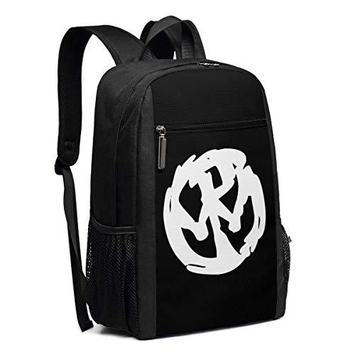 Schulrucksack, Travel Hiking Pennywise Band Logo Backpacks Waterproof Big Student College High School Laptop Shoulder Bag Outdoor Backpacks for Men Women Adults (übung Bands Zum Verkauf)