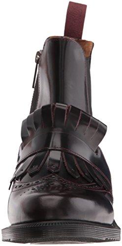 Dr Martens Tina Damen Stiefel Dunkel Rot Bordeaux