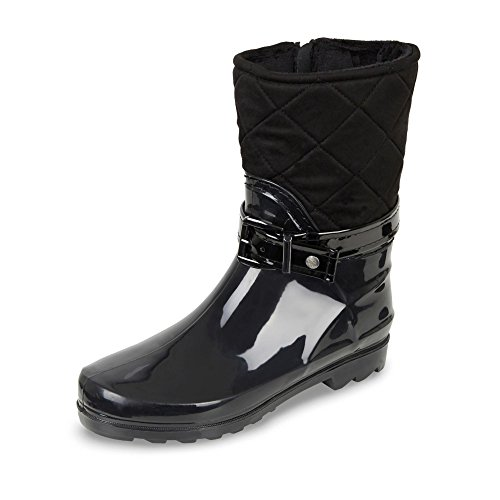 GOSCH SHOES  Gosch Shoes Sylt Damen 7102-504, bottes en caoutchouc femme Noir