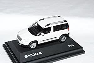 skoda yeti ab 2009 candy weiss 014e 1 72 abrex modellauto. Black Bedroom Furniture Sets. Home Design Ideas