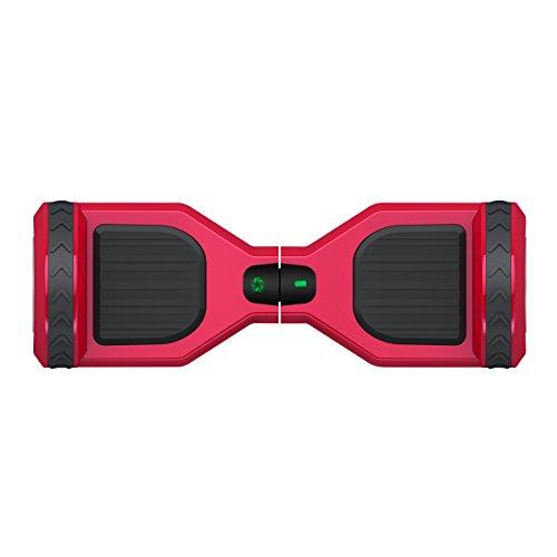 Freeman F10 hoverboard 250W con batería Samsung color rojo