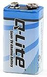 Batterie alcaline 9V, Blocco Batterie (1pezzi)