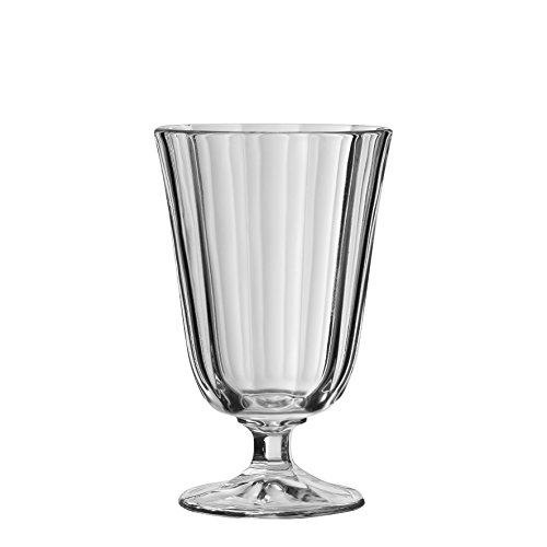 Côté Table Seite Tisch 12028Ana Cotes Wasserglas mit Fuß Silber 25cl 8x 8x 13cm