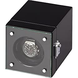 Auer Accessories Hektor 2901B Uhrenbeweger Für 1 Uhr Klavierlack